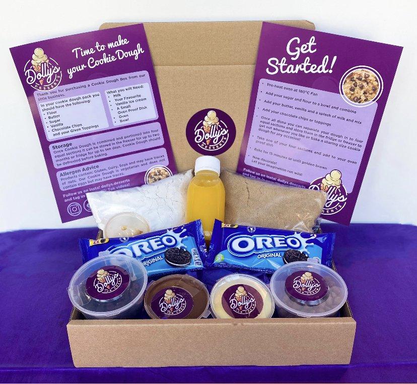 BIY Cookie Dough Kit – Oreo And Nutella
