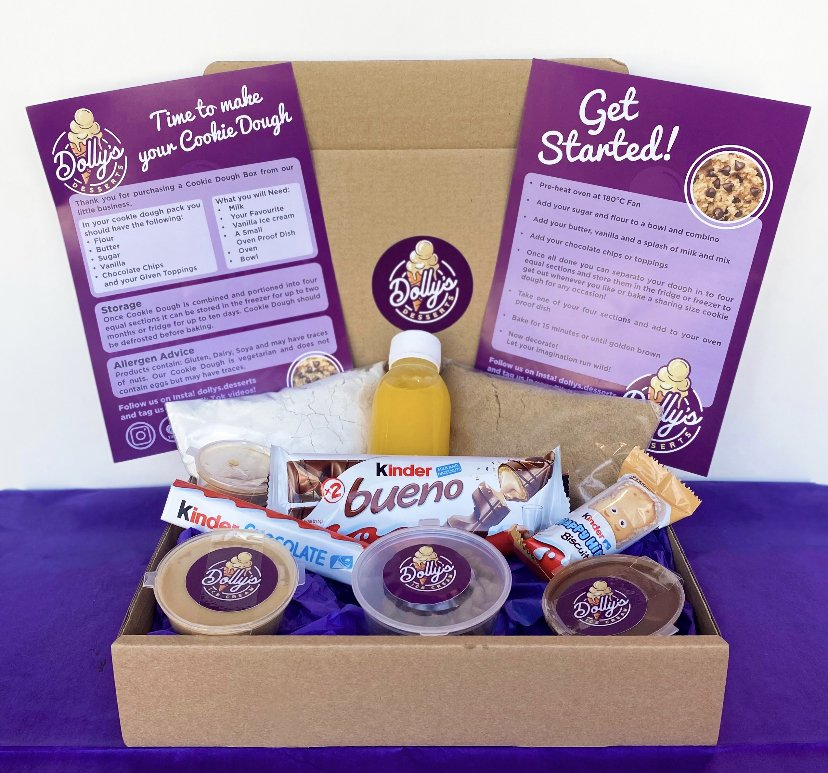 BIY Cookie Dough Kit – Nutella and Kinder