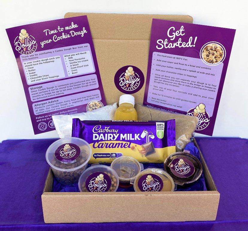 Cookie Dough Kit – Cadburys Caramel
